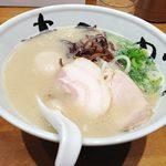 【大阪 福島 麺酒家 まんかい】大阪出張の時にはぜひ食べたい博多純系豚骨ラーメン