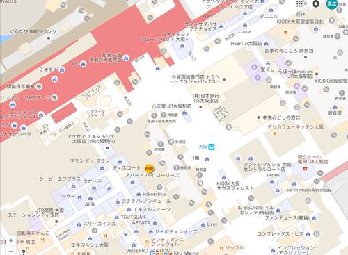 グルメカリー ピッコロ 地図