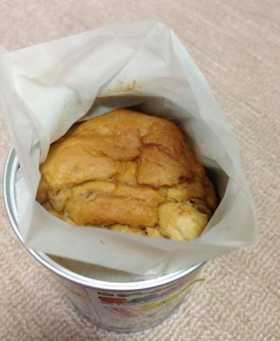 パンの缶詰 開栓