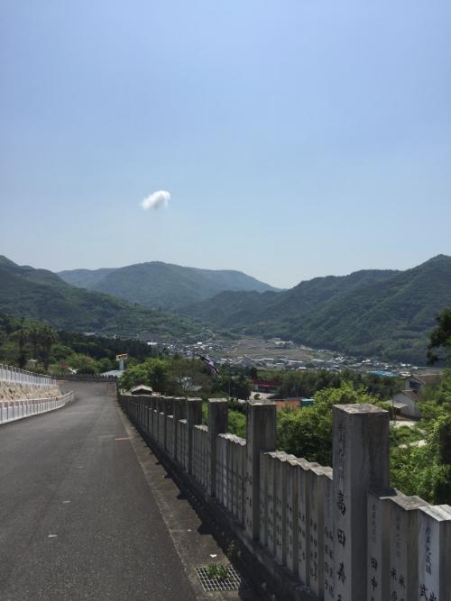 小豆島大観音佛歯寺 坂