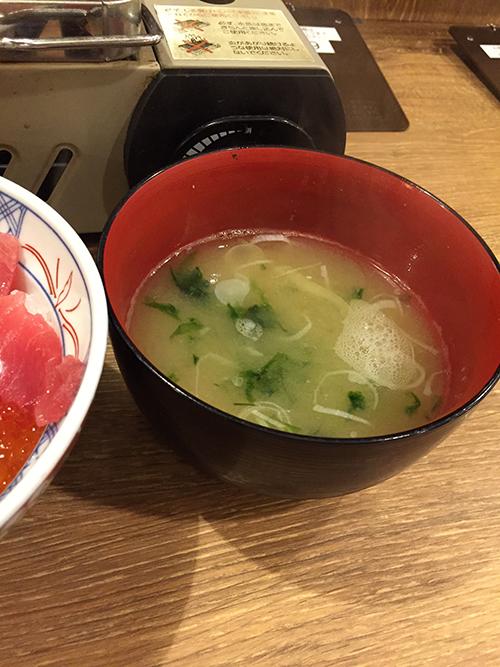 生海苔味噌汁