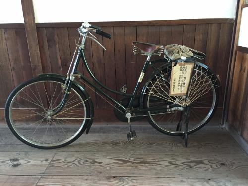 二十四の瞳映画村 岬の分教場 自転車