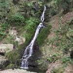 マイナスイオン(死語)を浴びに水無瀬の滝に行ってきた