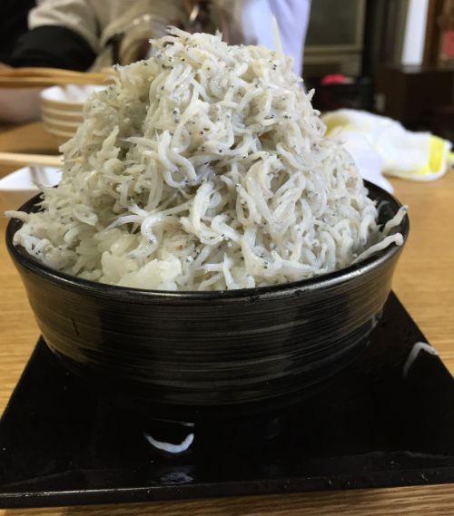 しらす丼 ノーマルサイズ