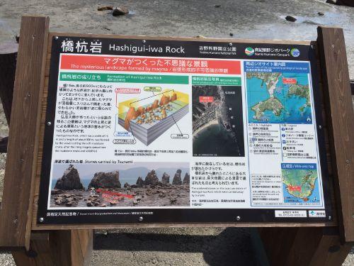 本州最南端の道の駅「くしもと橋杭岩」