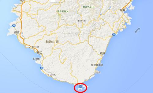 潮岬 地図