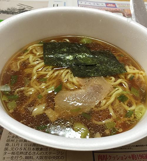 マルちゃん正麺カップ 芳醇こく醤油