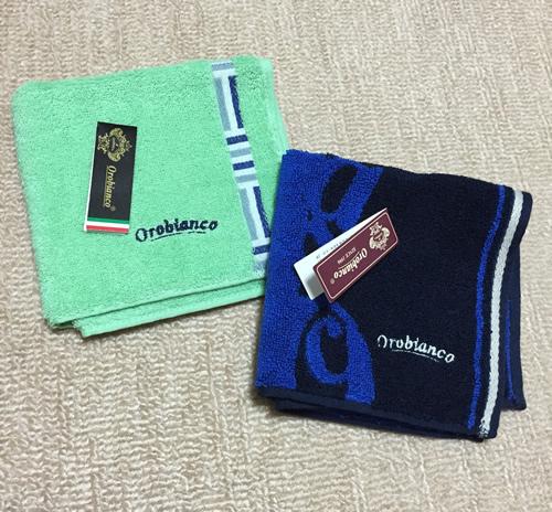 Orobianco(オロビアンコ) ハンドタオル