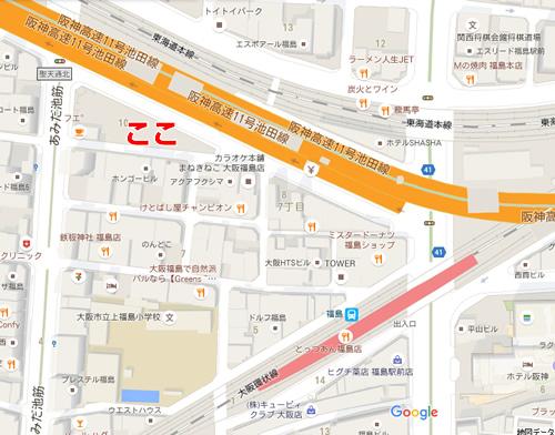 上福島公園 地図
