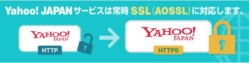 Yahoo SSL化