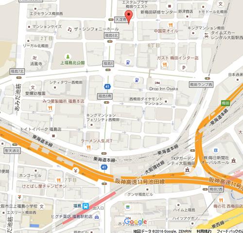 市丸屋台(いちまるやたい) 地図