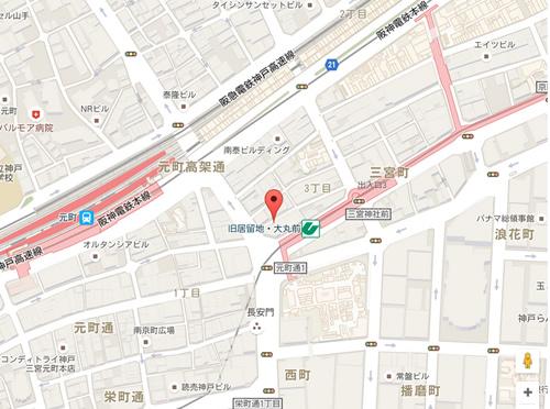 蛸の壺 本店 地図