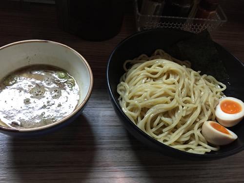 麺や 輝の穴 味玉つけ麺