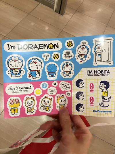 I'm Doraemon 期間限定ショップ 大阪タカシマヤ