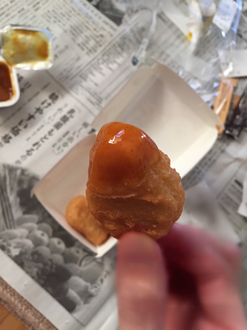 チキンマックナゲット フルーツカレーソース