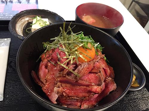 天地人 ローストビーフ丼