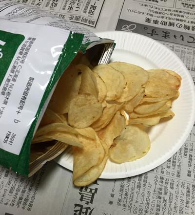 ポテトチップス パクチー味