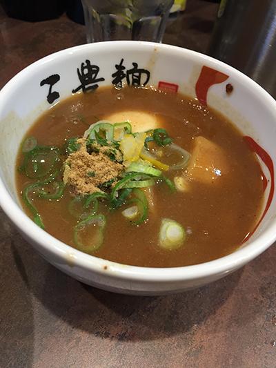 三豊麺 スープ