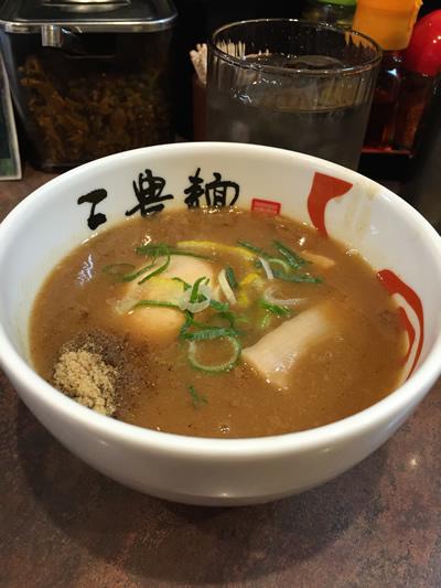 三豊麺 味玉つけ麺